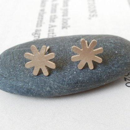 Star Earring Studs In 9ct Yellow Go..