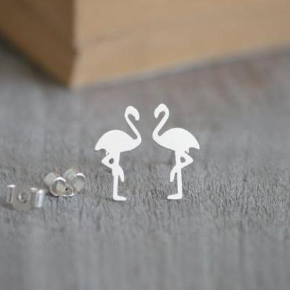 Flamingo Earring Studs, Flamingo St..