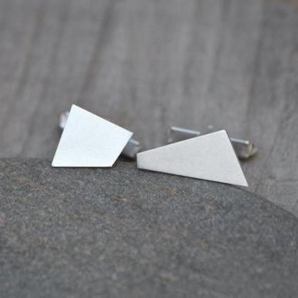 Quadrilaterals Cufflinks In Sterlin..