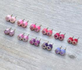 Color Pencil Earring..