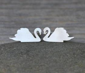 Swan Cufflinks In So..