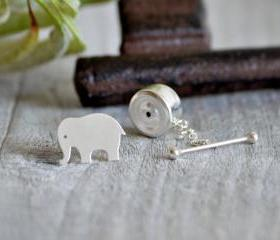 Elephant Tie Tack In..