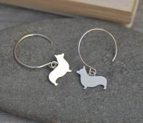 Corgi Earrings In St..