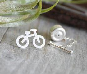 Bicycle Tie Tack In ..